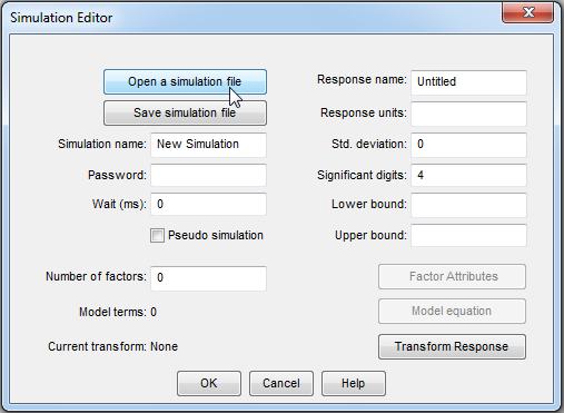 Simulation Editor